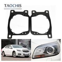 TAOCHIS Auto Adapter Frame Head Light Bracket For Chevrolet Malibu HID Xenon Type Hella 3R G5