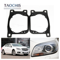 TAOCHIS Auto Adapter Frame Head Light Bracket For Chevrolet Malibu HID Xenon Type Hella 3R G5