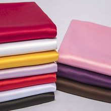 Satin Silk Shiny Poly Small Stretchy Material Clothing Linings Gift Soft Charmeuse DIY