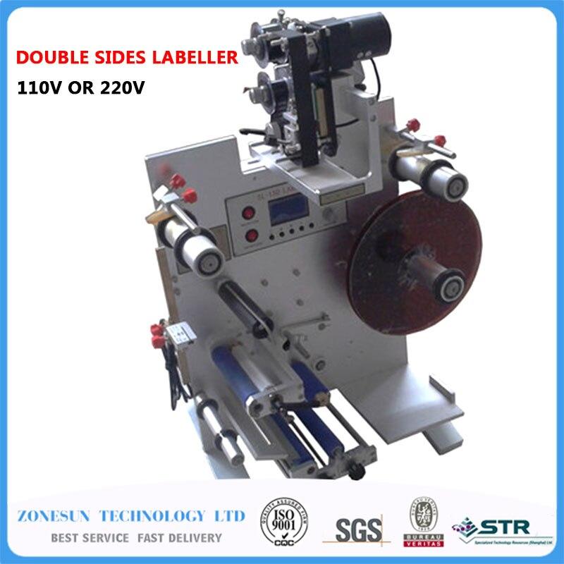 ツ)_/¯Zonesun doble etiquetado doble lados etiquetadora SL-130M (220 ...