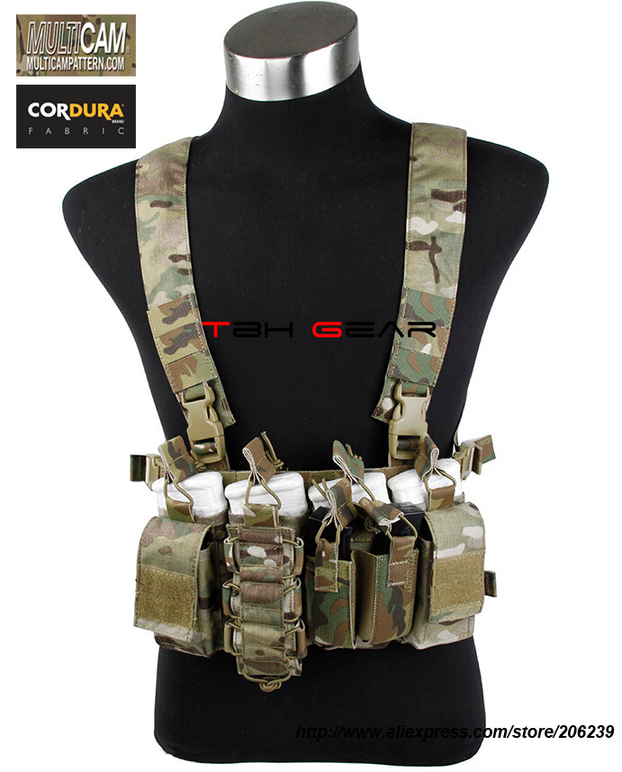 ФОТО TMC D-Mittsu Tactical Strategic Chest Rig Multicam Military Combat Chest Rig+Free shipping(SKU12050490)