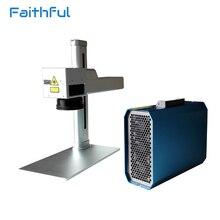 Industrial 20 Watt Smart Laser Marking Machine Price with Embedded Computer