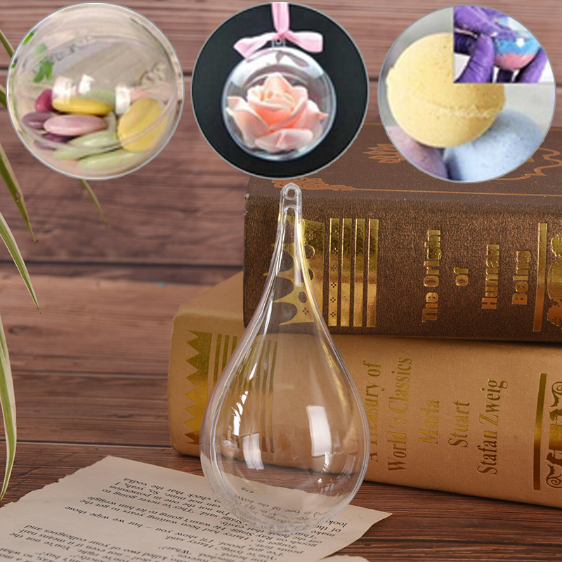1Pc Cake Moulds Baking Pastry Chocolate Plastic Sphere Bath Bomb Water Ball Round Kitchen Bathroom Accessories