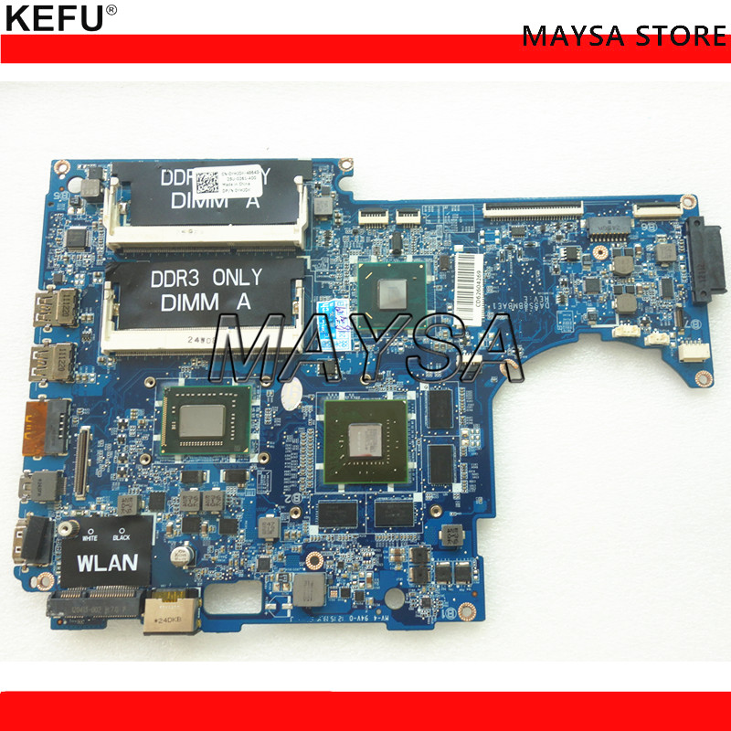 CN-0CD50P CD50P DASS8BMBAE1 REV:E mainboard Fit For DELL XPS 15Z L511Z laptop motherboard <font><b>I5</b></font>-<font><b>2450M</b></font> GT525M NOTEBOOK PC image