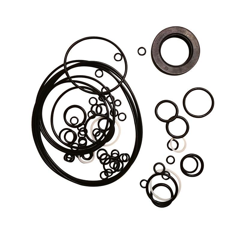 Seal kit for Kawasaki hydraulic oil pump repair kit K3V63 K3V112DT K3V140 K3V180 oil seal стоимость