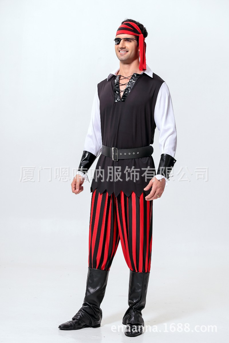 Popular Mens Pirate Halloween Costumes-Buy Cheap Mens Pirate ...