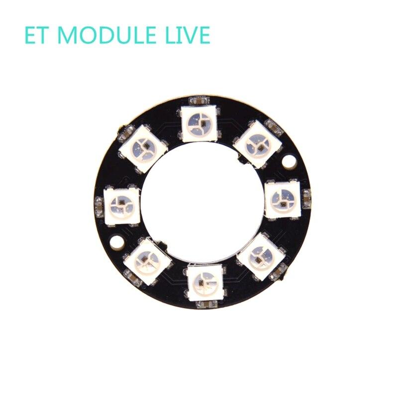 1pcs RGB LED Ring 8Bit WS2812 5050 RGB LED + Integrated Drivers mini usb led lamp module ws 641 1 статуэтка александр македонский 1221114