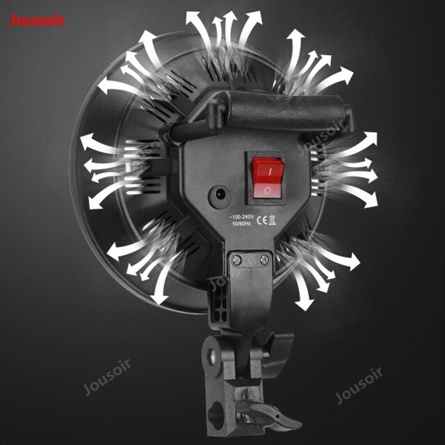 Photographie lumières ensemble LED petit studio simple photo deux lampes softbox portrait remplissage lumière stand équipement de tir CD50 T10