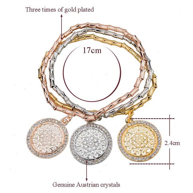 Toucheart хрустальные браслеты ручной работы и с камнями для