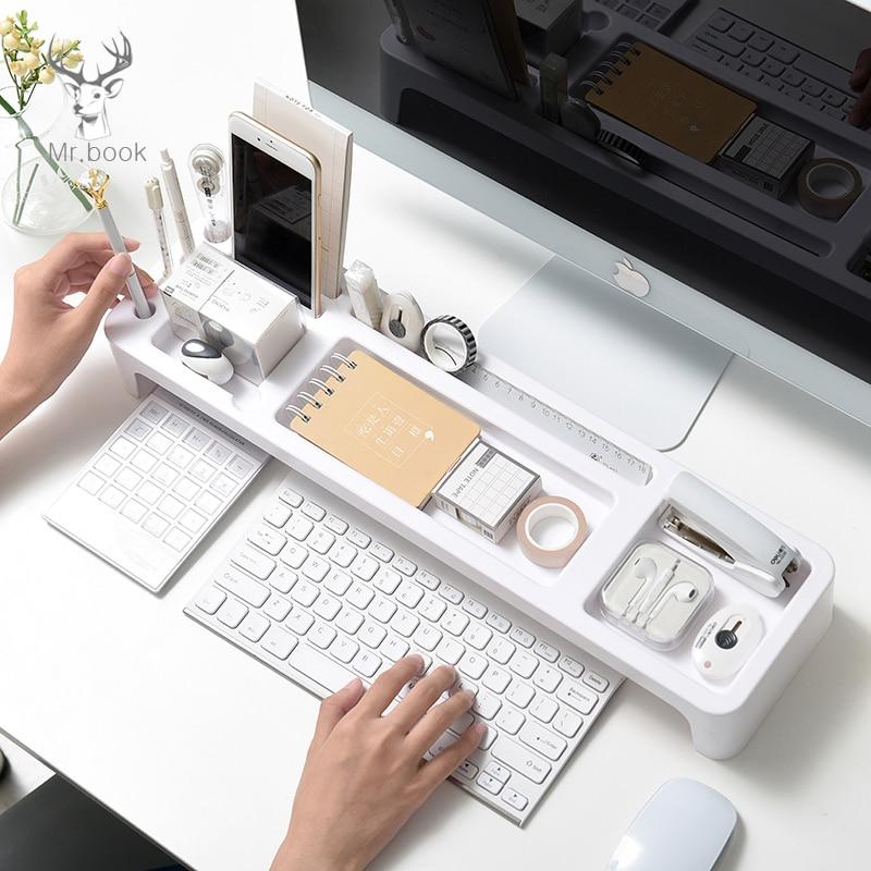 Creative Multi Function Office Stationery Pen Holder