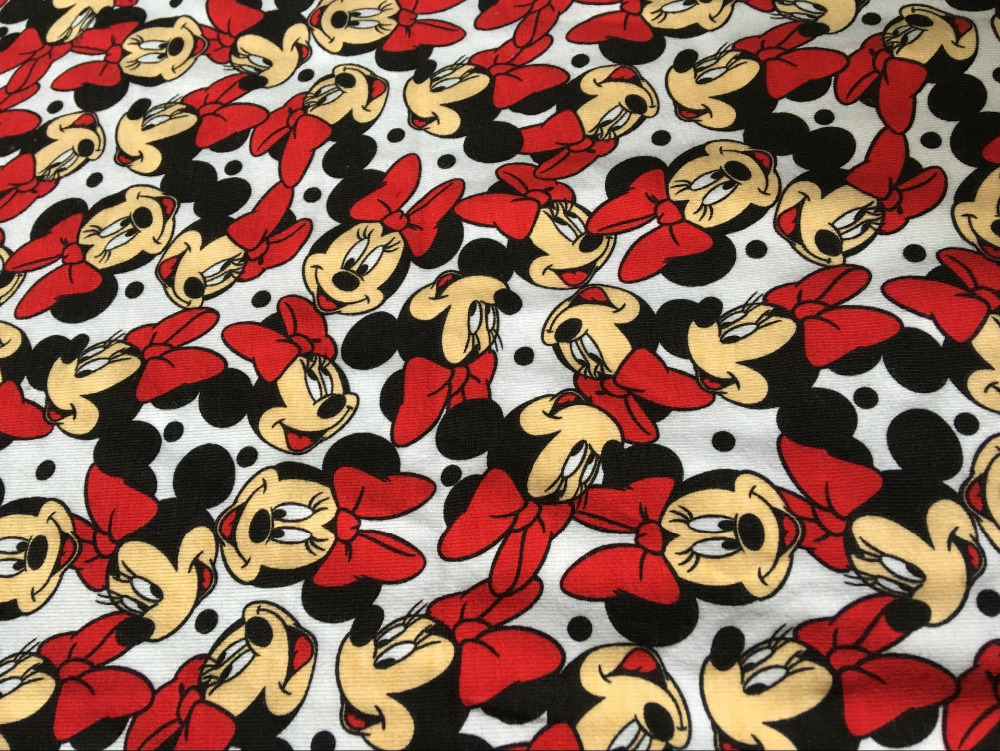 Cotton knit lycra fabrics patchwork prints cartoon for Knit fabric childrens prints