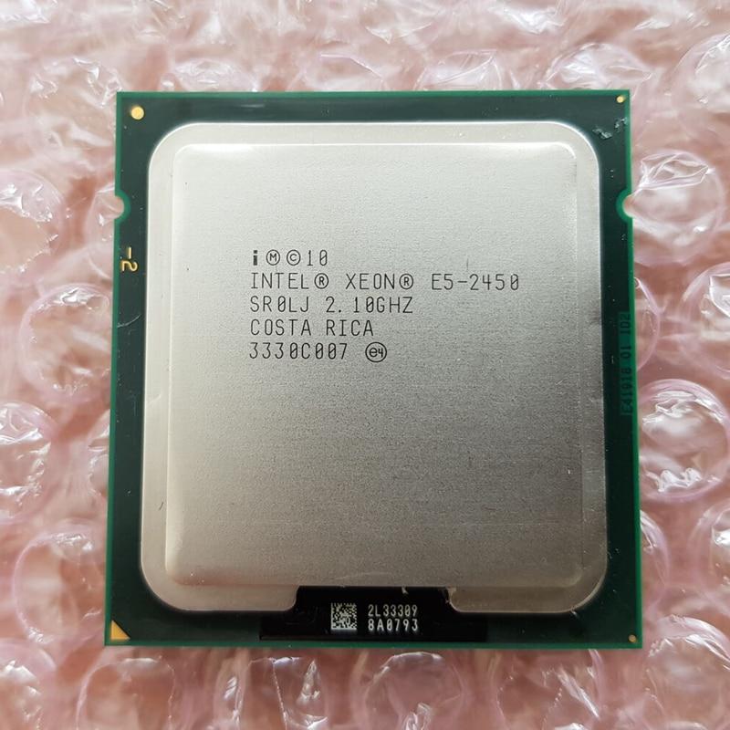 Intel Xeon E5 2450 E5 2450 2 1GHz Eight Core Sixteen Thread CPU 20M 95W LGA