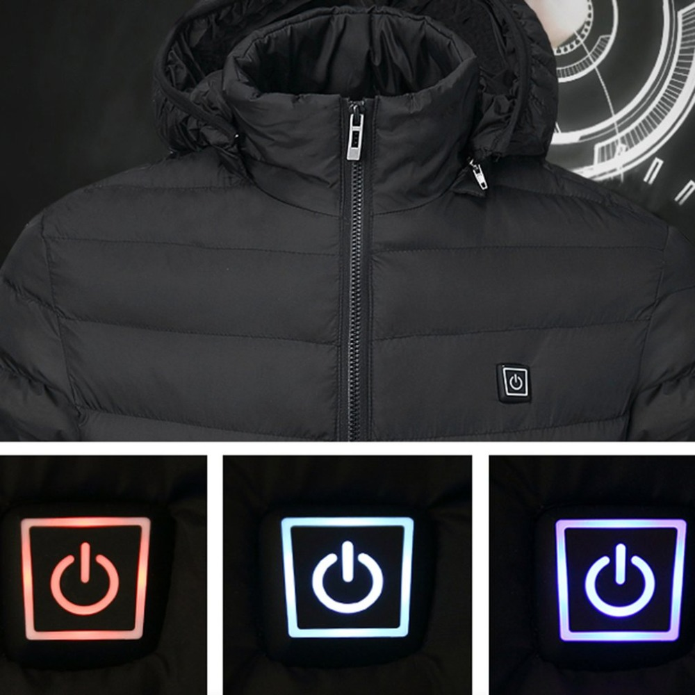 Outdoor Electric Heating Coat USB Camping hiking Tactical Jacket Heat Retaining Anti spot Wear resistant Jacket