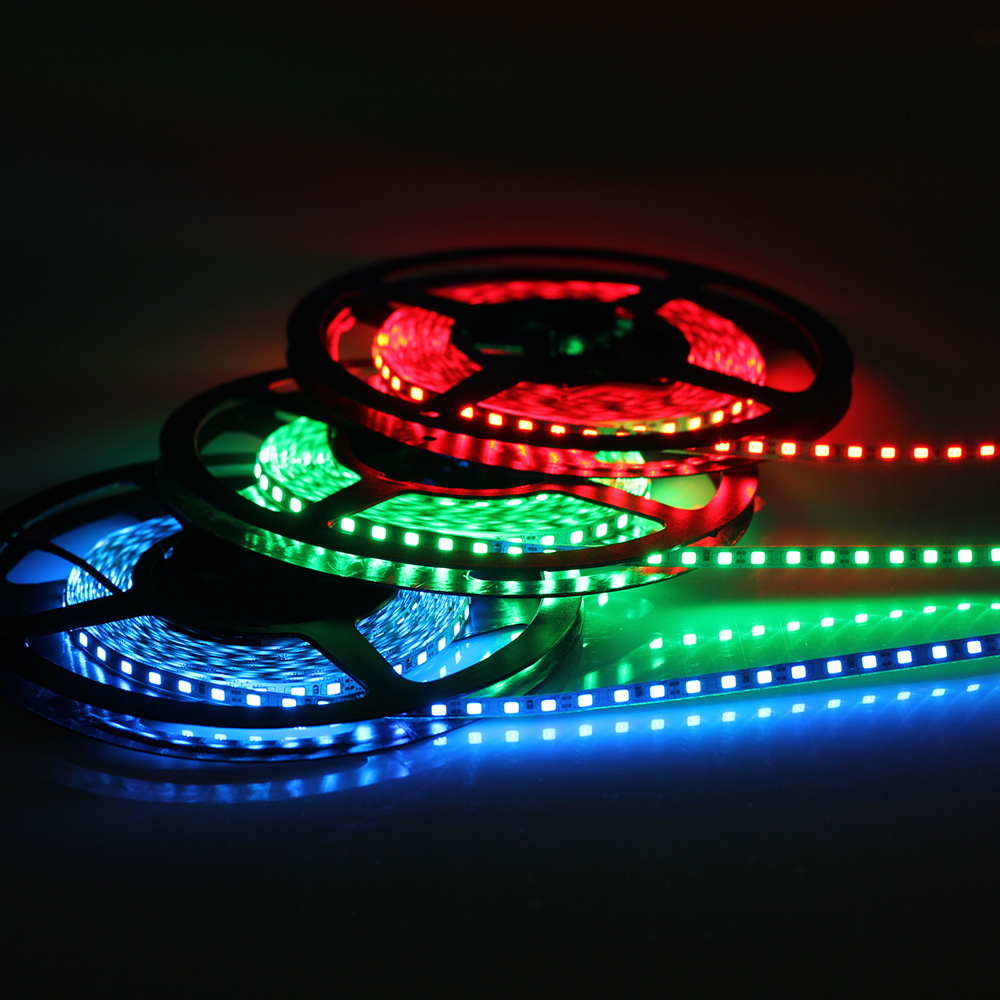 5mm narrow width LED strip 2835 120led/m 5M/lot DC12V Flexible strip Light White,Warm white,Blue,Green,Red IP20 No waterproof