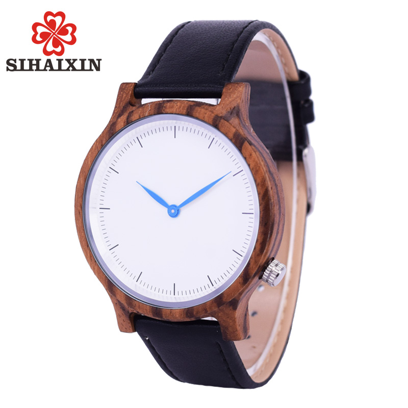 SIHAIXIN Relojes Clásicos Hombres Pulsera Ronda Vintage Diseño - Relojes para hombres
