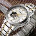 Luxury Men Brand Automatic Business Watches Self Wind Stainless Steel Dress Wristwatch Crystals Clock Saphir Relojes 3ATM NW3293