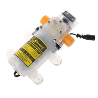 DC 12V 70W food grade Diaphragm Water Pump Self priming Booster Pump with Automatic Switch 300L/H for red wine milk S06