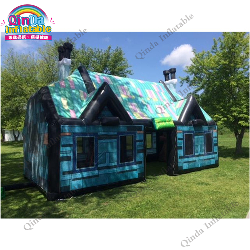 Commercial outdoor portable inflatable bar tent, inflatable pub for sale personal activity inflatable mobile pub tent for family party use