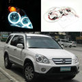 For Honda CRV CR-V 2005 2006 Excellent led angel eyes Ultrabright illumination smd led Angel Eyes Halo Ring kit