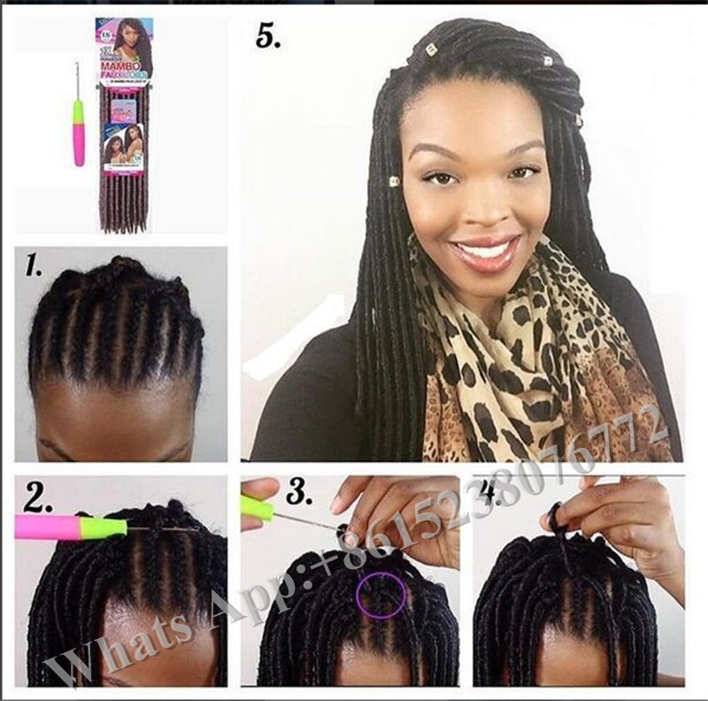 Soft Dread Crochet Hair Styles : Soft dread hairstyles, dreadlocks crochet braids,soft dread twist lock ...
