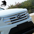 For Hyundai Creta ix25 Racing Grills decoration cover chrome car-styling ABS Exterior decoration products accessories 2015-2017
