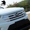Para Hyundai ix25 Creta Corrida Grills decoração tampa cromada ABS Exterior produtos de decoração do carro-styling acessórios 2015-2017