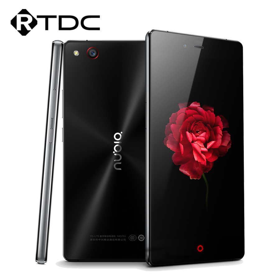 Цена за Оригинал ZTE NUBIA Z9 MAX 4G LTE Мобильный Телефон Snapdragon 615 Octa Ядро 5.5 ''1920x1080 16.0MP Камера 2 ГБ RAM 16 ГБ ROM GPS NFC