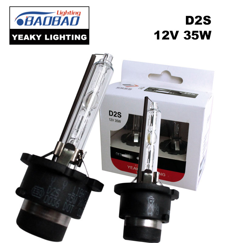 BAOBAO H7 Original YEAKY Ultra Bright HID Car Headlight Bulb 35W 4500K 5500K 6500K H1 H3 H8 H11 9005 9006 Car Styling in Car Headlight Bulbs LED from Automobiles Motorcycles