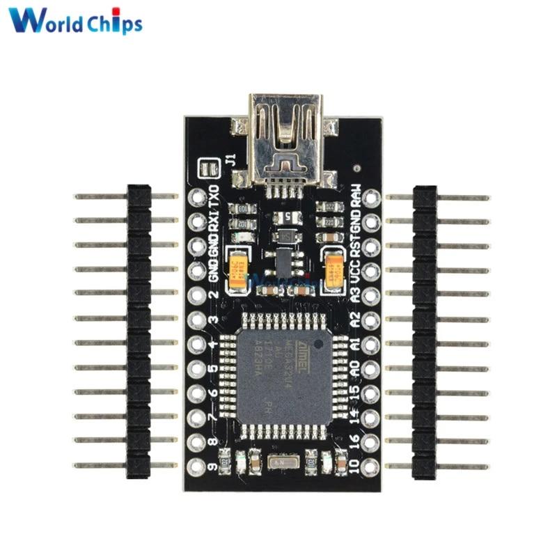 TD-ELECTRO 10PCS Mini USB ATmega32U4 Pro Micro 5V 16MHz Board Module for Arduino//Leonardo ATMega 32U4 Controller Pro-Micro Replace Pro Mini