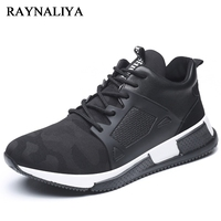 Men Sneakers Men Casual Shoes Summer Breathable Lace Up Flats Fashion Light Male Footwear Size 38