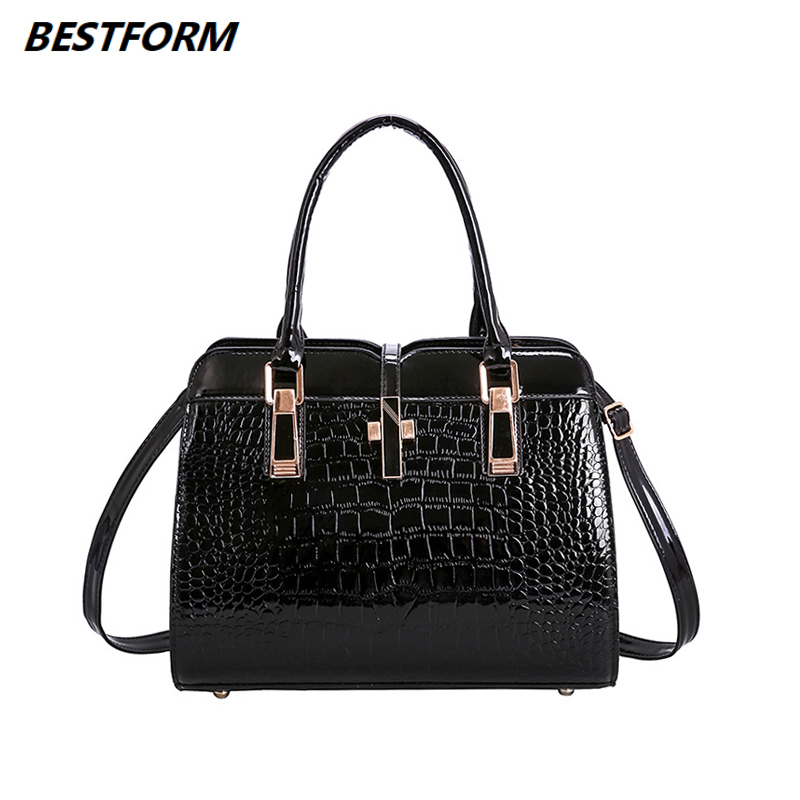 BESTFORM Women Messenger Bags Casual Tote Female Fashion Luxury Handbags Designer Pocket High Quality