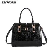 BESTFORM Women Messenger Bags Casual Tote Female Fashion Luxury Handbags Designer Pocket High Quality