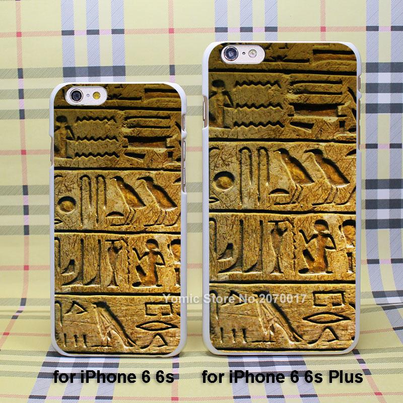 egypt hieroglyph case cover for Apple iPhone 4/4s 5/5s 5c 6/6s 6Plus ...