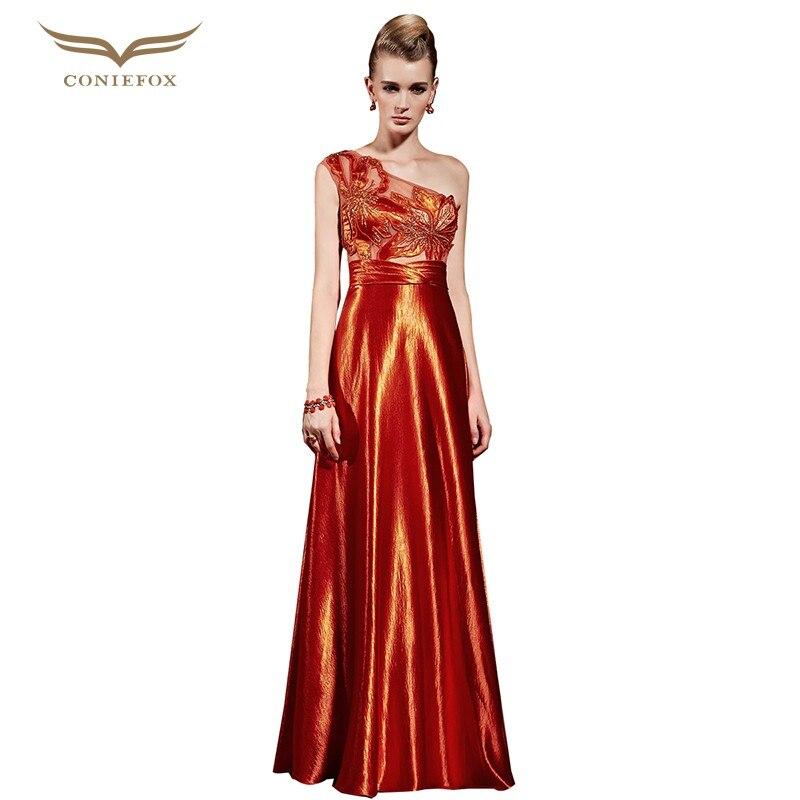 4924de76b Coniefox que rebordea la celebridad vestido inspirado a line solo hombro  piso longitud vestidos de noche de lujo vestidos de novia 31015 nuevo en  Vestidos ...
