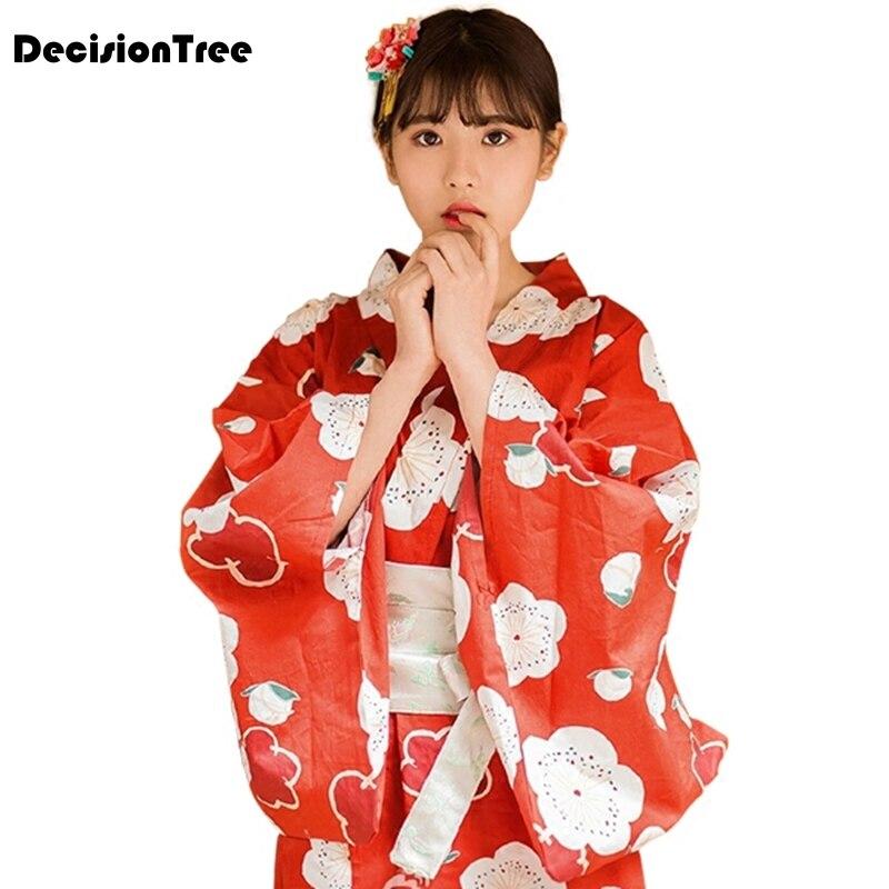 2019 été japonais kimono vintage tradition originale soie yukata robe japon sexy cosplay costumes danse performances costum