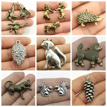 2019 Mix Birthday Fox Charms Animals For Jewelry Making Diy Craft Supplies Findings For Diy Jewelry Accessories Pendant 2019 mix elephant necklace pendant charms for jewelry making diy craft supplies men jewelry elephant god