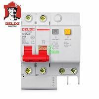 63A 2P RCBO RCD Circuit Breaker DE47LE DELXI