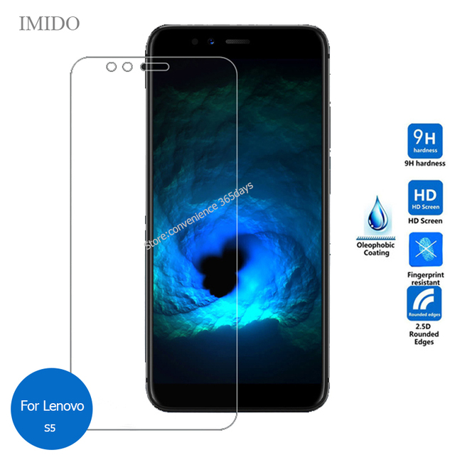 Tempered Glass For Lenovo S5 Pro A5 Z5 Screen Protector 2.5 Safety Protective Film On K 5 6 8 5S 9