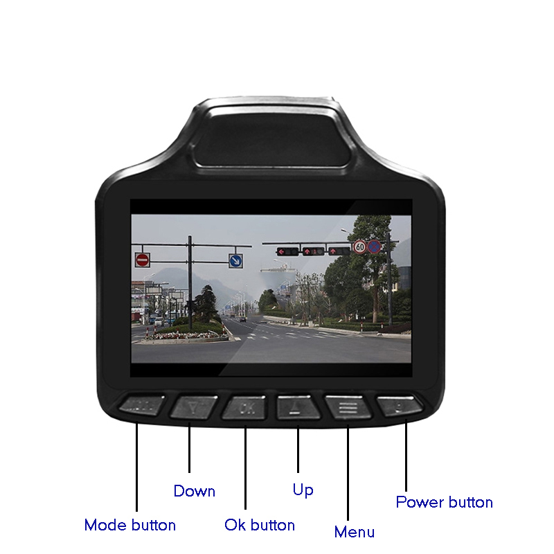 Car dvr Radar Detector 3 TFT dvr recorder HD 1280x720P tachograph Traffic warning device Car GPS Tracker Russian version gps навигатор lexand sa5 hd