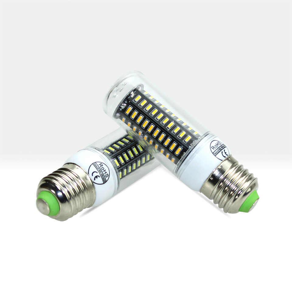 E27 Led lamp bulb AC 220V High Luminous Flux 4014 SMD Corn bombillas LED light Warm White Cold White indoor lighting lampe