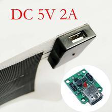 USB, зарядное устройство солнечной Мощность Зарядное устройство регулятор с источником питания от постоянного тока, 6 V-20 V 18V 5V 2A Max для Панели солнечные понижающий модуль с винтом нержавеющей стали солнечные Мощность Зарядное устройство