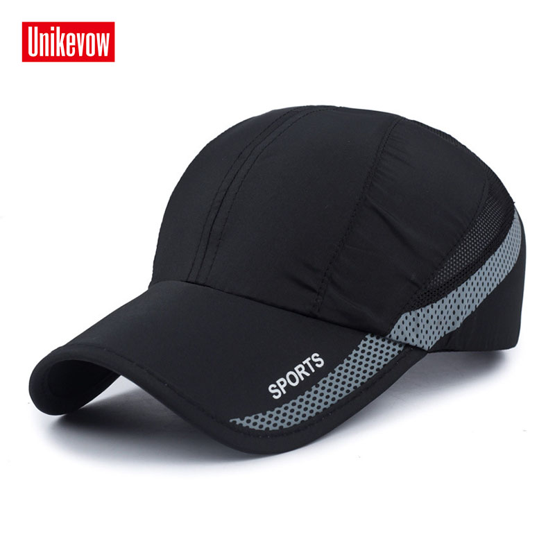 Unisex Baseball Caps Motorcykel Cap Light Hat Snabbt Dry Men Women Casual Summer Hat