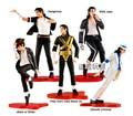 Festival Michael Jackson MJ 5 Classic Dance Moves estilos PVC Action Figure Toys Dolls 10 CM 5 pçs/set