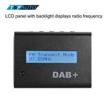 Универсальный 12 В Автомобильный цифровой Радио dab + аудио приемник комплект с автомобиля Зарядное устройство/Дистанционное управление/Телевизионные антенны