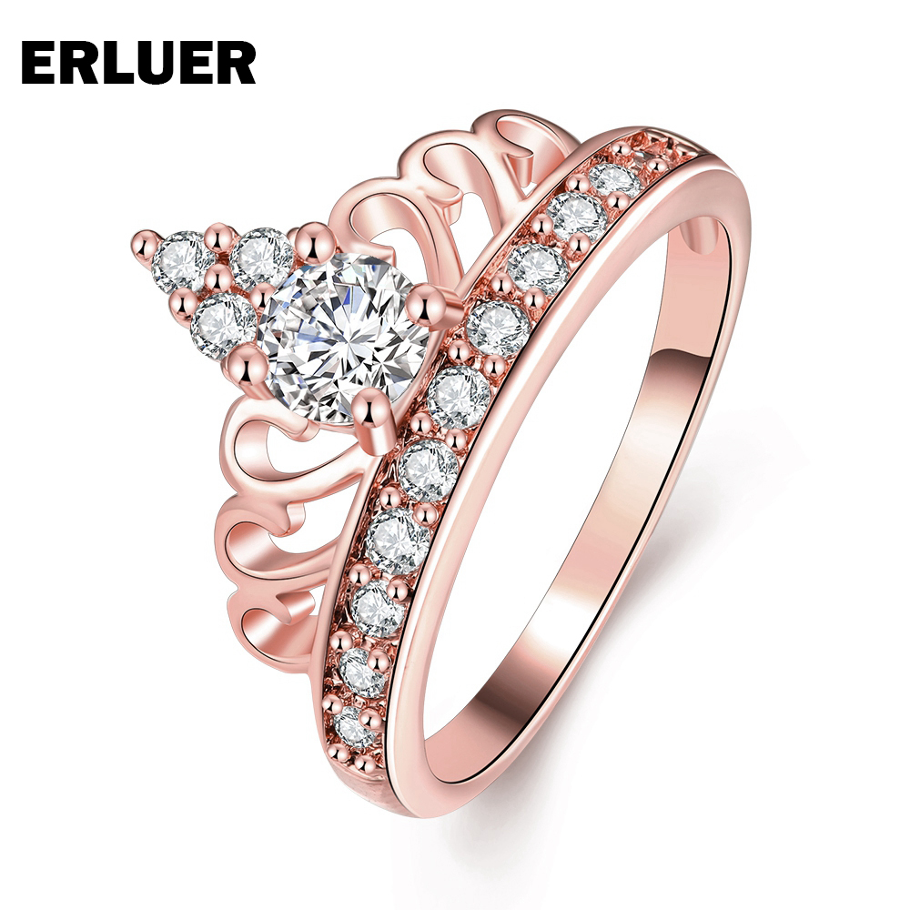 Aliexpress.com : Buy ERLUER Trendy Rose gold color Fashion jewelry ...