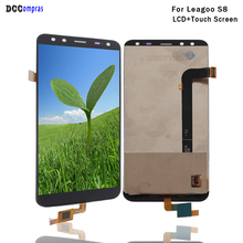 hot deal buy original for leagoo s8 lcd display touch screen mobile phone lcd parts for leagoo s8 display screen lcd free tools