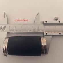 1 шт. высокое качество B кларнет настроены трубы, два секционная трубка, аксессуары для кларнета длина: 62 мм