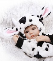 40cm Silicone Reborn Baby Doll kids Playmate Gift For Girls 18 Alive baby reborn dolls bebe child reborn bonecas
