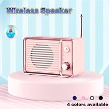 HIPERDEAL Retro reloj HIFI portátil inalámbrico Blueteeh altavoz creativo nuevo estilo Mini altavoz estéreo sonido altavoz Jy18