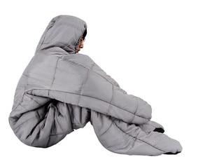 Image 2 - Уличный человеческий спальный мешок для взрослых весом 1,9 кг для использования в помещении и кемпинге на осень и зиму 2 размера